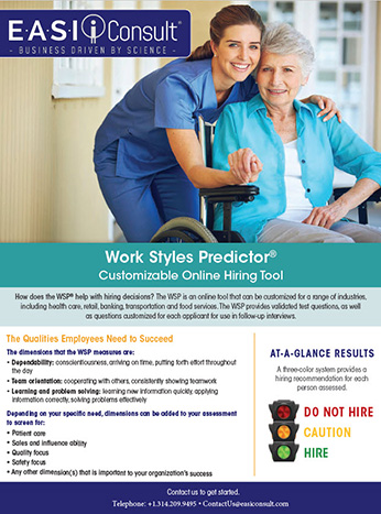 Work Styles Predictor Overview cover graphic